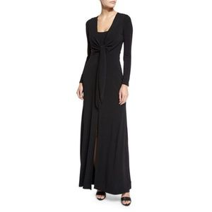 Alice + Olivia Salina Tie-Waist Maxi Dress